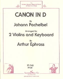 Johann Pachelbel - Canon in D - 2 Violins piano - Sheet Music - di-arezzo.co.uk