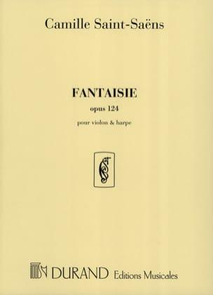 Camille Saint-Saëns - Fantasía op. 124 - Arpa de violín. - Partitura - di-arezzo.es