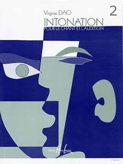 Intonation - Volume 2 - Elève Virginie Dao Partition laflutedepan