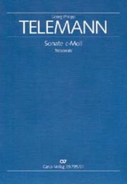 TELEMANN - Triosonate c-moll - Flute, Viola da Gamba Viola, Cello, Bc - Partition - di-arezzo.com