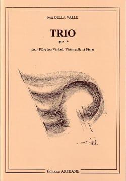Valle Jean Della - Trio Op. 14 - Partition - di-arezzo.fr