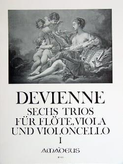 François Devienne - 6 Trios Bd. 1 - Flute Viola Violoncello - Stimmen - Sheet Music - di-arezzo.com