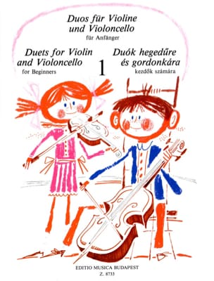 Pejtsik Arpad / Vigh Lajos - Duets for Violin and Violoncello Volume 1 - Partition - di-arezzo.fr