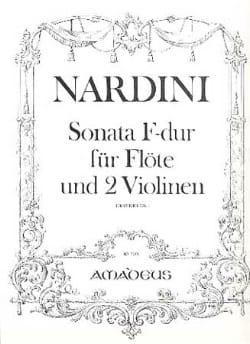 Pietro Nardini - Sonata F-Dur -Flöte 2 Violinen - Stimmen - Partition - di-arezzo.fr