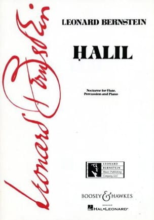 Leonard Bernstein - Halil – Flute percussion piano - Partition - di-arezzo.fr