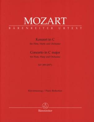 MOZART - Konzert C-Dur KV 299 - Flöte Harfe Klavier - Noten - di-arezzo.de