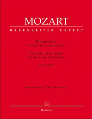 MOZART - Konzert C-Dur KV 299 - Flute Harfe Klavier - Sheet Music - di-arezzo.co.uk