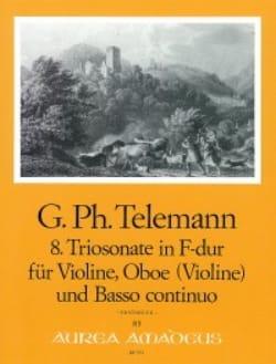 Triosonate Nr. 8 in F-Dur -Oboe Violine Bc - laflutedepan.com