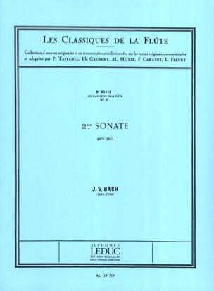 Sonate n° 2 mib majeur BWV 1031 - Flûte piano BACH laflutedepan