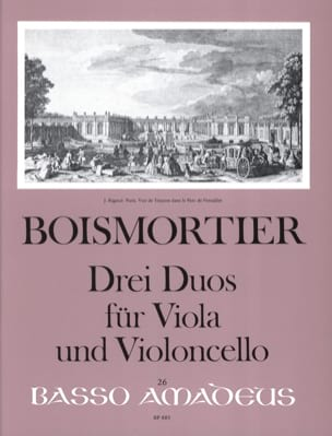 BOISMORTIER - 3 Duets for Viola and Cello - Sheet Music - di-arezzo.com