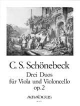 3 Duos für Viola und Violoncello op. 2 - laflutedepan.com