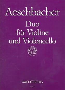 Duo für Violine und Violoncello op. 26 - laflutedepan.com