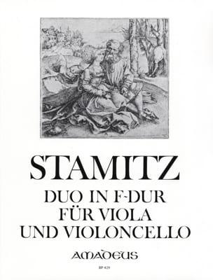 Duo in F-Dur für Viola und Violoncello STAMITZ Partition laflutedepan