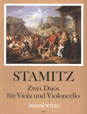 Carl Stamitz - 2 Duos for Viola and Violoncello - Sheet Music - di-arezzo.co.uk