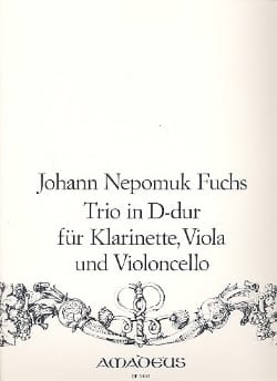 Trio in D-Dur -Klarinette Viola Violoncello Johann Fuchs laflutedepan