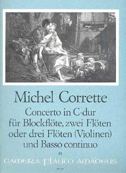 Concerto in C-Dur op. 4 n° 3 - Blockflöte 2 Flöten BC laflutedepan