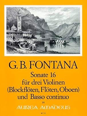 Sonate Nr. 16 für 3 Violinen u. Bc laflutedepan