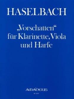 Josef Haselbach - Vorschatten - Klarinette Viola Harfe - Sheet Music - di-arezzo.com