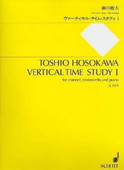 Toshio Hosokawa - Vertical time study 1 1992 - Sheet Music - di-arezzo.com