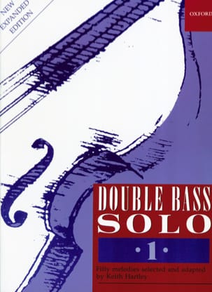 Double Bass Solo Volume 1 Keith Hartley Partition laflutedepan