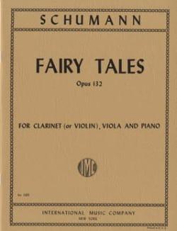 Märchenerzählungen op. 132 (Fairy Tales) - Clarinet (violin) viola piano - laflutedepan.com