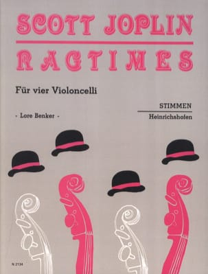 Scott Joplin - Ragtimes für 4 Violoncelli - Stimmen - Sheet Music - di-arezzo.co.uk
