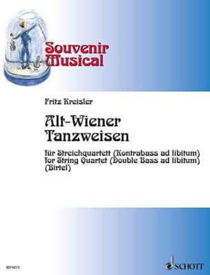 Fritz Kreisler - Alt Wiener Tanzweisen - Streichquartett - Partition - di-arezzo.fr