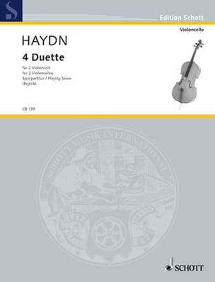 HAYDN - 4 Duet - Sheet Music - di-arezzo.co.uk