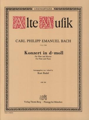 Konzert In D-Moll Wotq 22 - Flöte Klavier laflutedepan