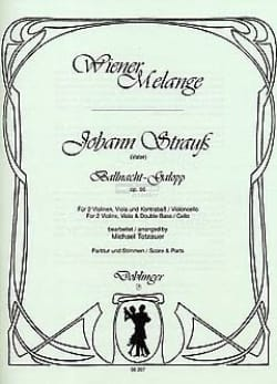 Johann (Père) Strauss - Ballnacht-Galopp op. 86 – Streichquartett - Partition - di-arezzo.fr