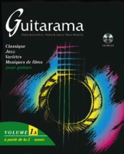 P. / Jania P. / Khalifa M. Guillem - Guitarama Volume 1A - Sheet Music - di-arezzo.co.uk