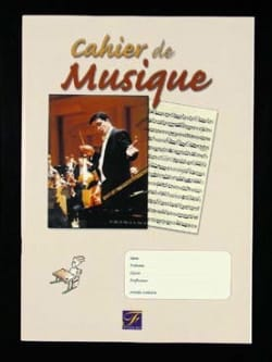 De Musique Fuzeau Cahier - Music Notebook - Sheet Music - di-arezzo.com