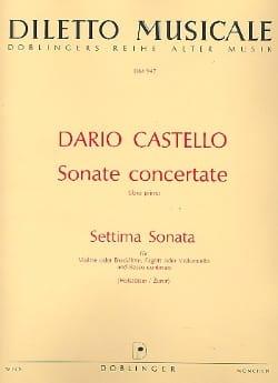 Settima Sonata (: Sonate Concertante - 1° Libro primo) - laflutedepan.com