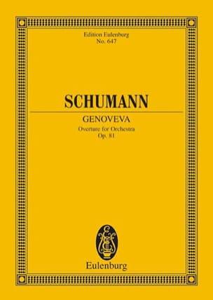 Genoveva, Ouvertüre - Robert Schumann - Partition - laflutedepan.com