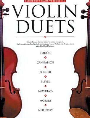 David Sackson - Violon Duets - Partition - di-arezzo.fr
