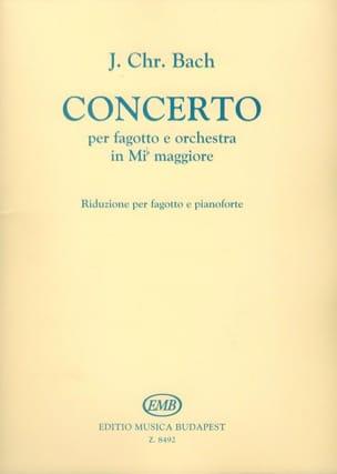 Johann Christian Bach - Basson Concerto - Greater Eb Orchestra - Sheet Music - di-arezzo.com