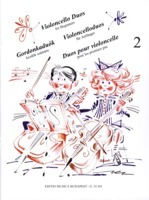 Arpad Pejtsik - Cello Duets for 1st Steps Volume 2 - Sheet Music - di-arezzo.co.uk