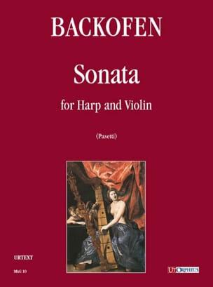 Johann Georg Heinrich Backofen - Sonata per arpa e violino - Partition - di-arezzo.fr