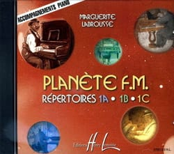 Marguerite Labrousse - CD - Planet FM Volume 1 - Piano Accompaniment - Sheet Music - di-arezzo.com