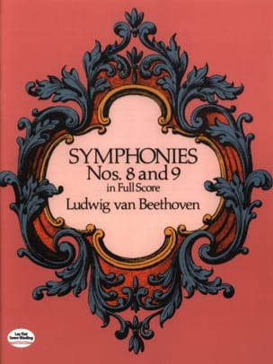 BEETHOVEN - Symphonies N ° 8 - 9 - Full Score - Partitura - di-arezzo.it