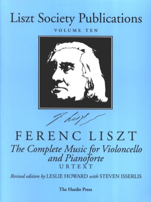 Complete Music for Violoncello and Piano LISZT Partition laflutedepan