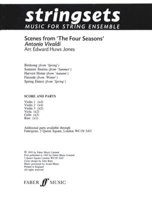 VIVALDI - Scenes From The Four Seasons - Sheet Music - di-arezzo.com