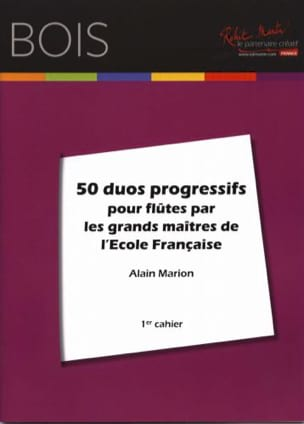 Alain Marion - 50 Progressive Duets for Flutes - Sheet Music - di-arezzo.co.uk