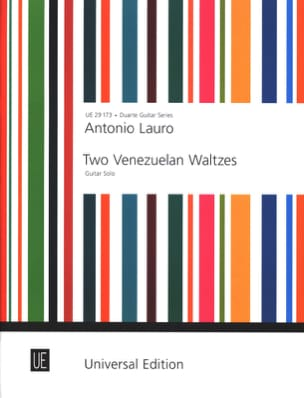 Antonio Lauro - 2 Venezuelan Waltzes - Guitar solo - Sheet Music - di-arezzo.co.uk