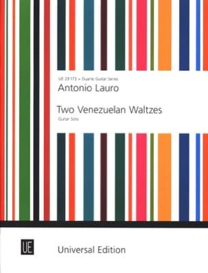 Antonio Lauro - 2 Venezuelan Waltzes –Gitar solo - Partition - di-arezzo.fr