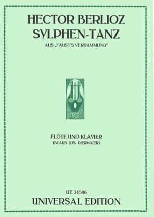 Sylphen-Tanz -Flöte Klavier - BERLIOZ - Partition - laflutedepan.com