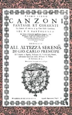 Canzoni, Fantasie et Correnti - laflutedepan.com