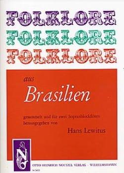 Folklore aus Brasilien - 2 Sopranblockflöten laflutedepan