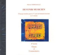 Michel Vergnault - CD - Devenir Musicien 4ème Livre - Partition - di-arezzo.fr