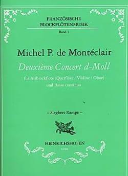 Deuxième Concert d-moll - Altblockflöte - laflutedepan.com
